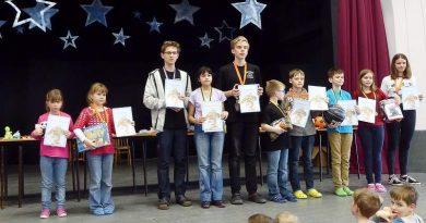 Vítězové kategorií jarního turnaje ve Ž. n. S.