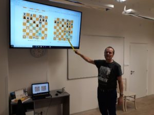 Soustředění Šachového centra talentované mládeže v Kraji Vysočina