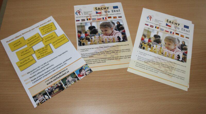 Projekt Šachy do škol v ZŠ a PŠ U Trojice Havlíčkův Brod